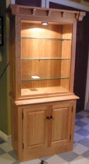 Cherry Hutch Cabinet