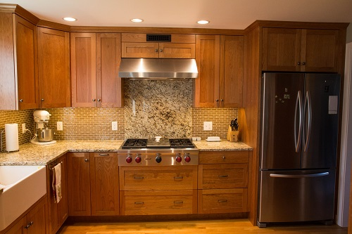 Vermont Custom Cabinetry Frameless Cherry Natural 1