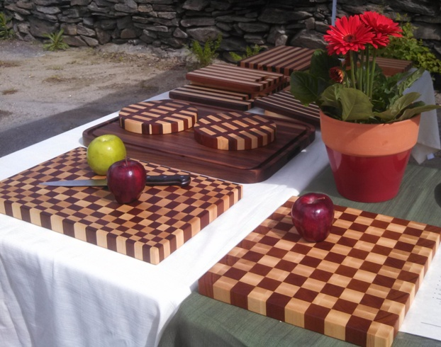 handmade wooden cutting boards