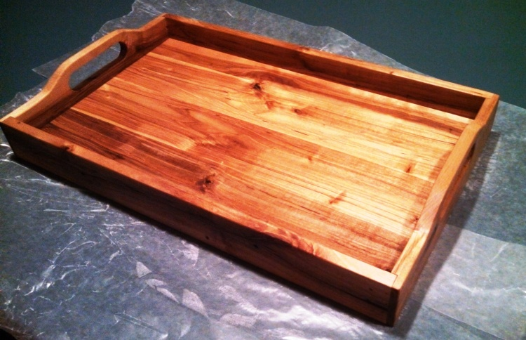 Serving Tray - Reclaimed Hickory