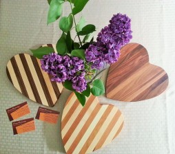Lilacs and Hearts