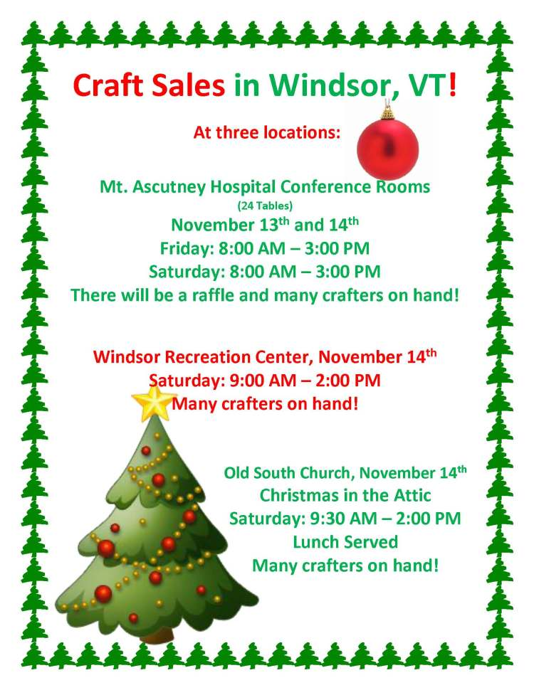 Xmas Flyer for Craft Fair 2015