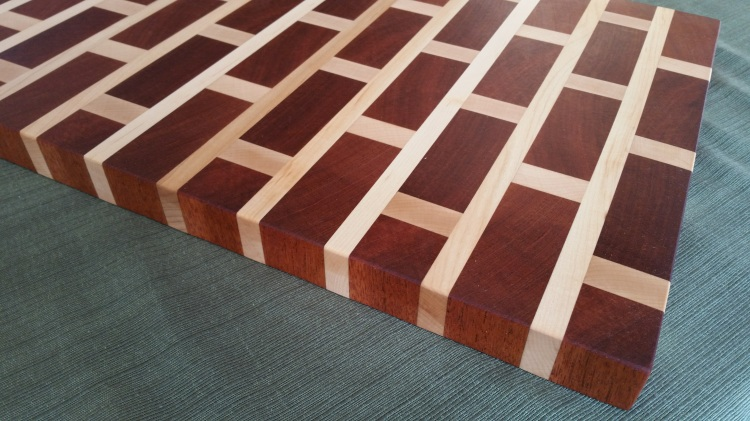 Brick Wall Cutting Board