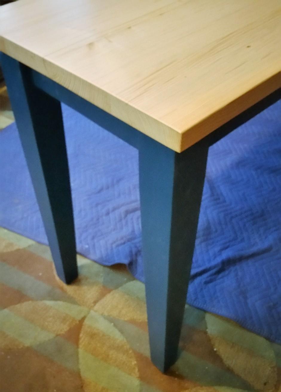 sofa table assembled