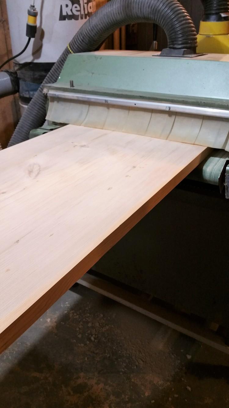 table top drum sander
