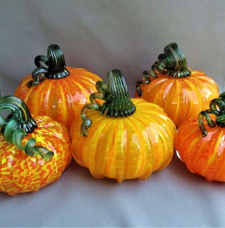 route 4 glass pumpkins