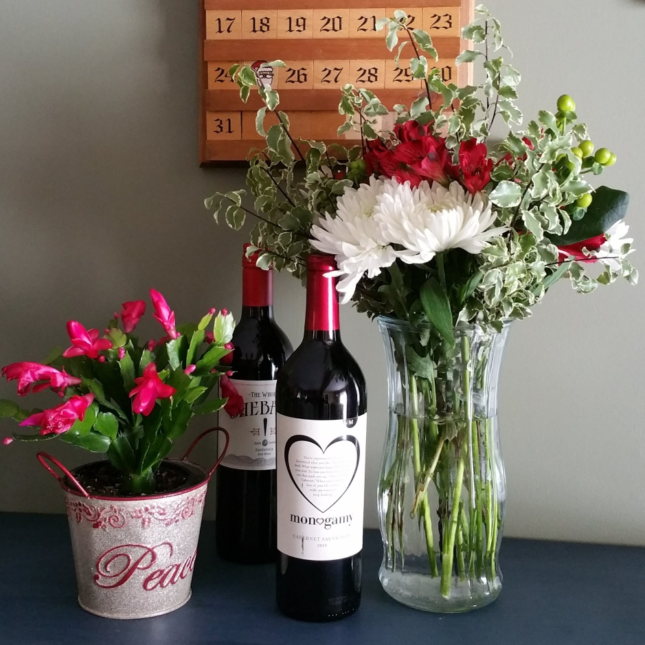 Flowers and Wine from Windsor Vermont