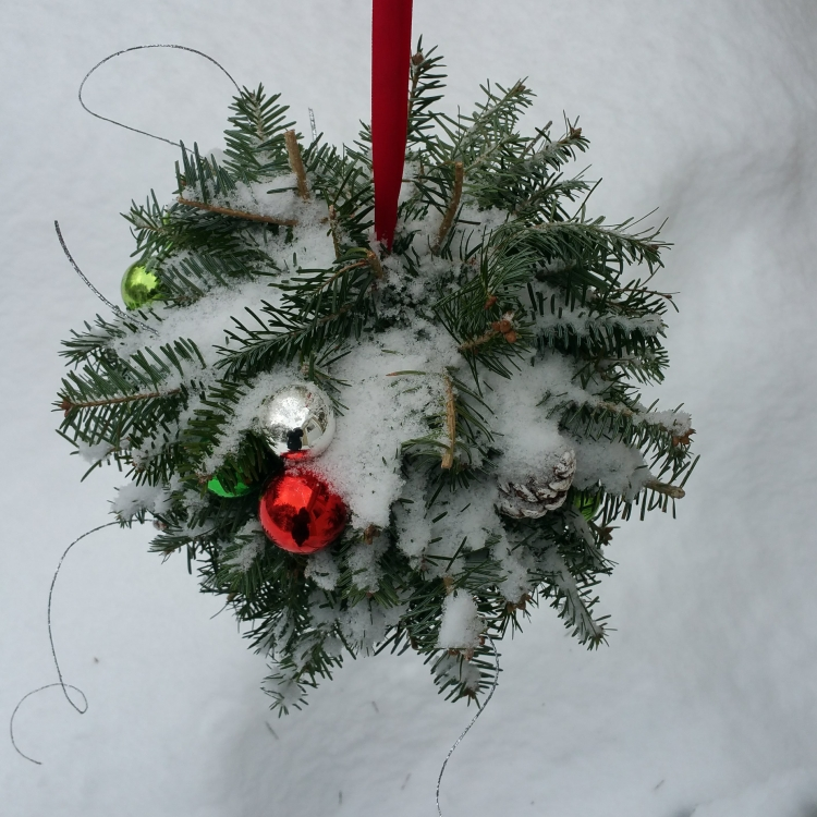 Kissing Ball Wreath