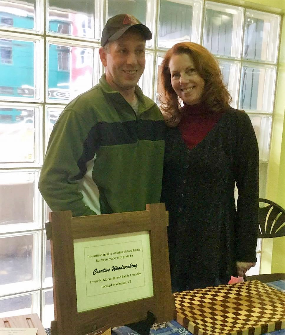 Sandy and Buddy   Creative Woodworking of Windsor