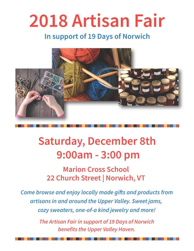 2018 Artisan Fair | Norwich, VT